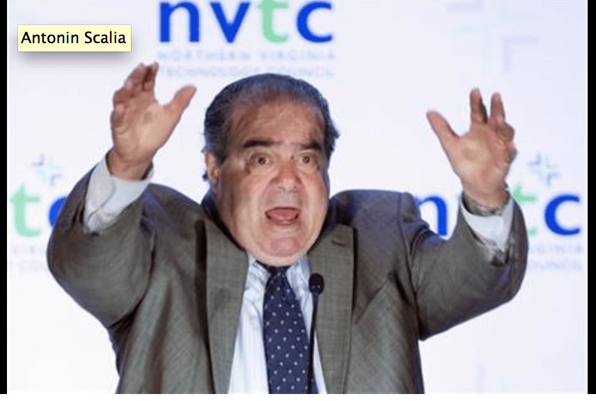 This is What Supreme Court Justice Antonin Scalia Thinks About Your Privacy Rights… Screen Shot 2013 09 26 at 2.27.01 PM