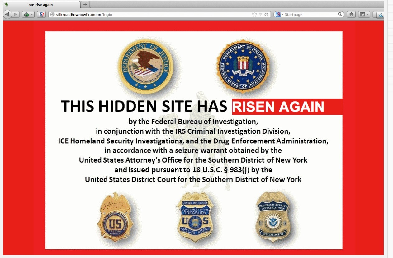 Silk Road 2.0 Has Been Born…New Website Mocks the Feds Screen Shot 2013 11 06 at 2.21.58 PM