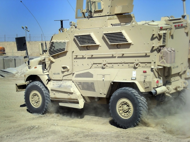 An Iowa City with a Population of 7,000 Will Receive Armored Military Vehicle