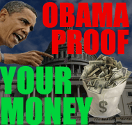 Obama Proof Your Money 190x180