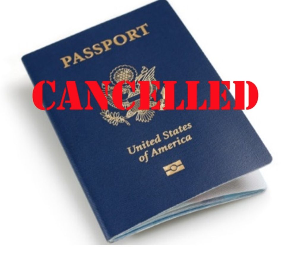 House of Representatives Passes Bill in 15 Minutes to Revoke Americans' Passports without Due Process