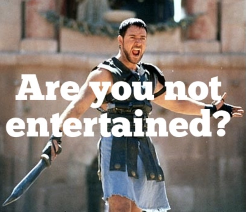 an analysis of the movie the gladiator Analyzing gladiator (film) 1 - analyzing gladiator (film) introduction the story took place in rome, one of the premier civilizations and.