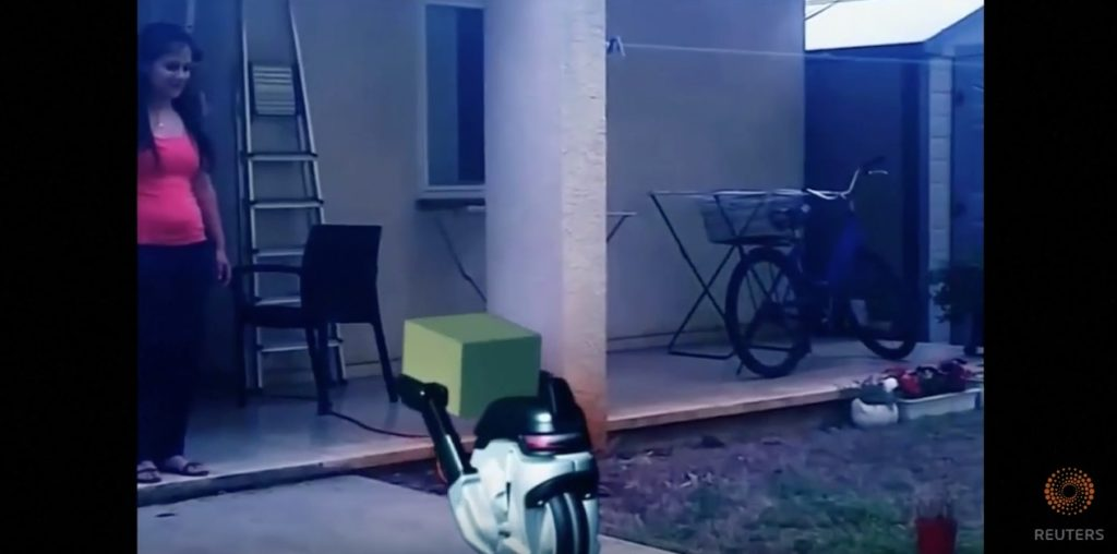 video of the day introducing ground based delivery drones liberty blitzkrieg. Black Bedroom Furniture Sets. Home Design Ideas