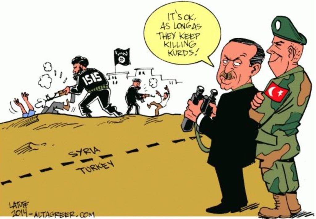"""So Who's Really Sponsoring ISIS? Turkey, Saudi Arabia, and Other U.S. """"Allies"""""""