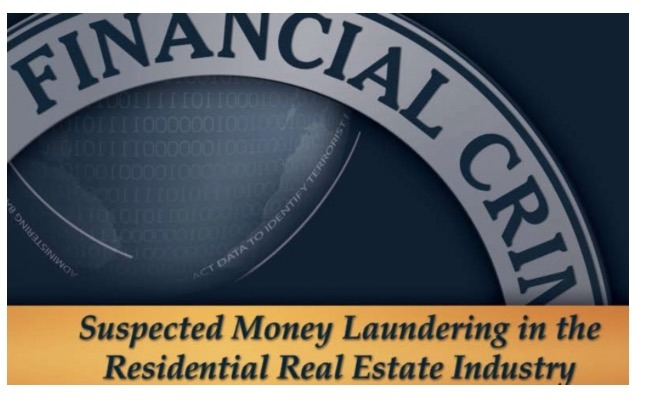 Blockbuster 60 Minutes Investigation Exposes the Details of Criminal Money Laundering Via Real Estate