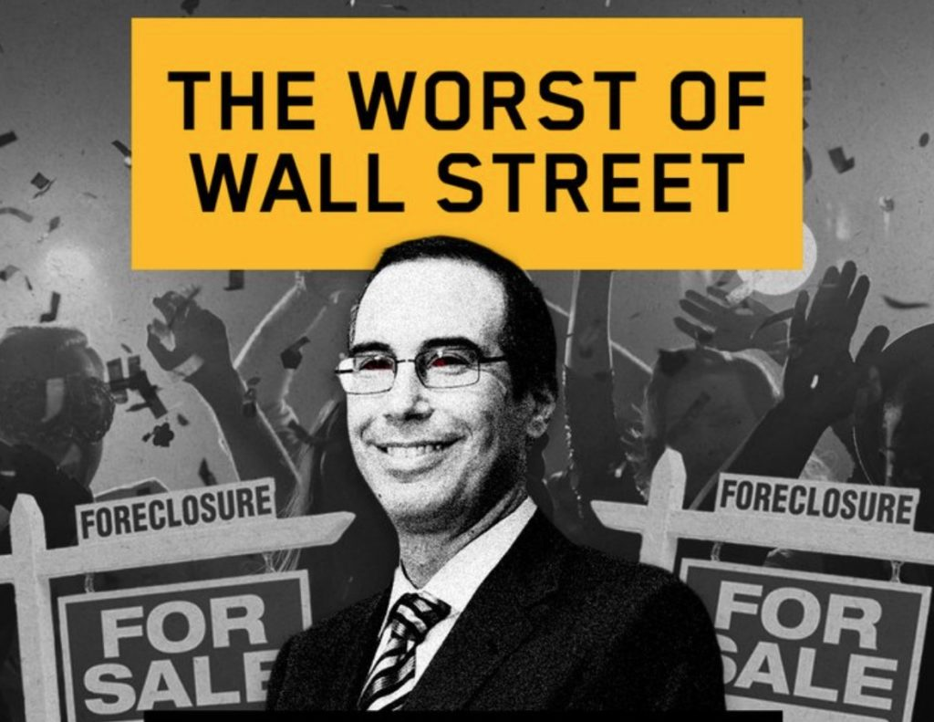 Buyers Remorse – Trump Supporter Was Foreclosed on by Treasury Pick Steve Mnuchin