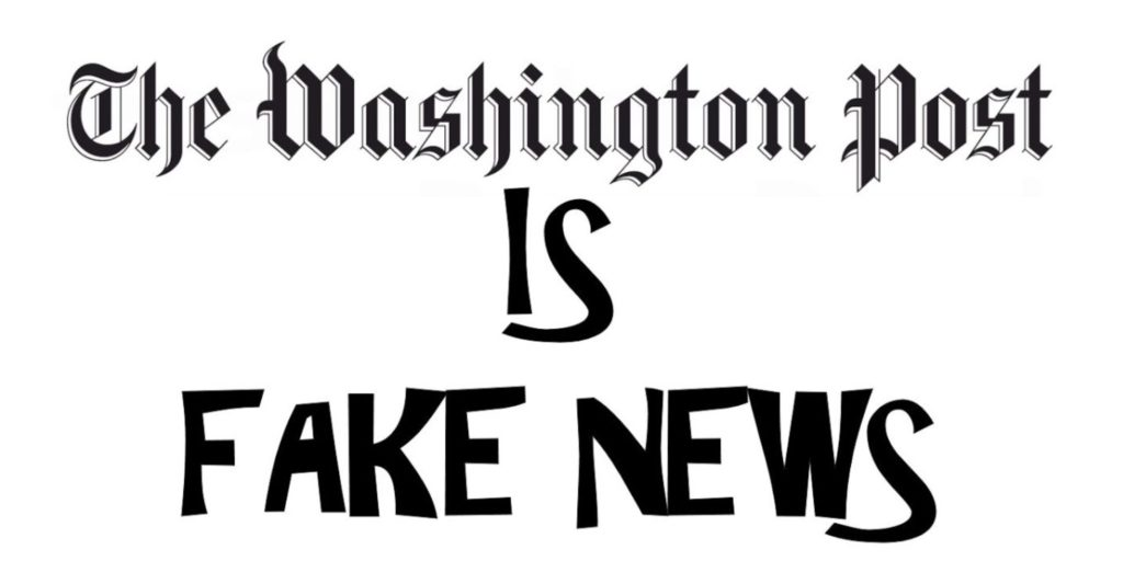Image result for bezos's fake news