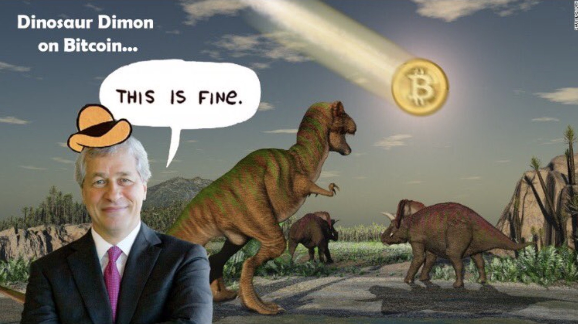 Which is Fraudulent – Bitcoin or JP Morgan?