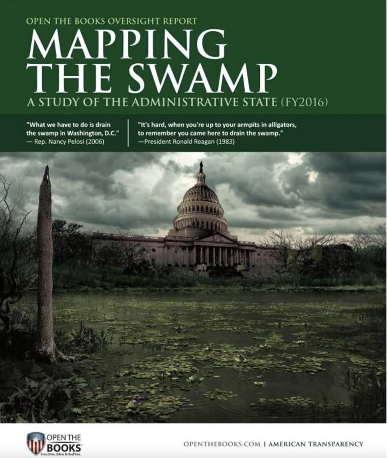 Mapping The Swamp – A Study of the Administrative State