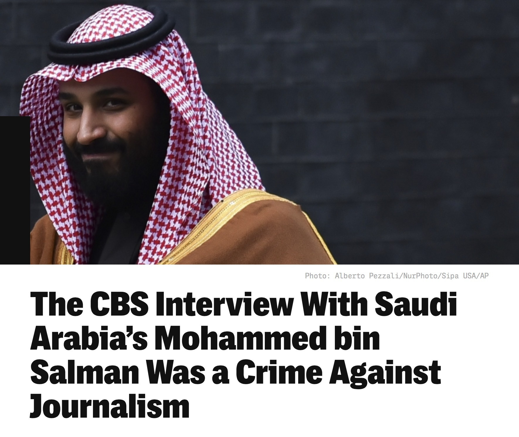 Liberty Links 3/25/18 – CBS Interview With Saudi Arabia's Mohammed bin Salman Was Crime Against Journalism