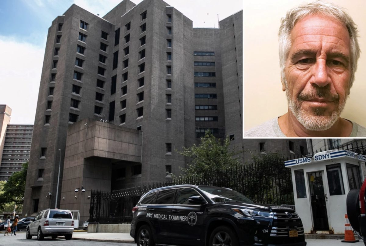 A Few Thoughts on Jeffrey Epstein's 'Suicide'