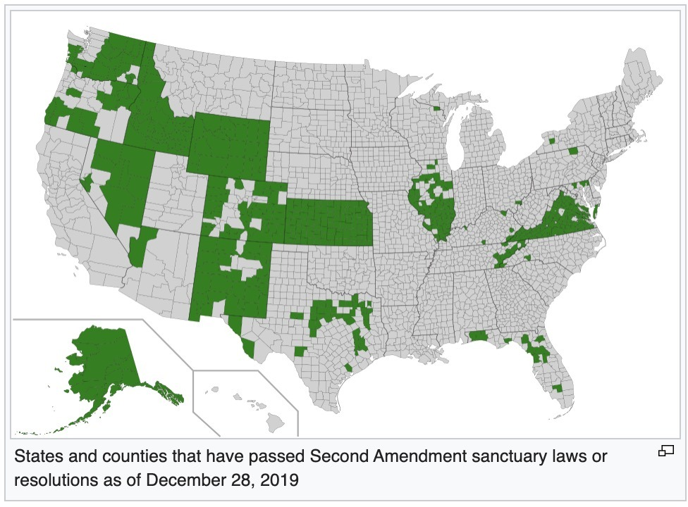 Localism in the 2020s (Part 1) – The 2nd Amendment Sanctuary Movement